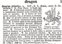 Dragon 1946  Dictionary